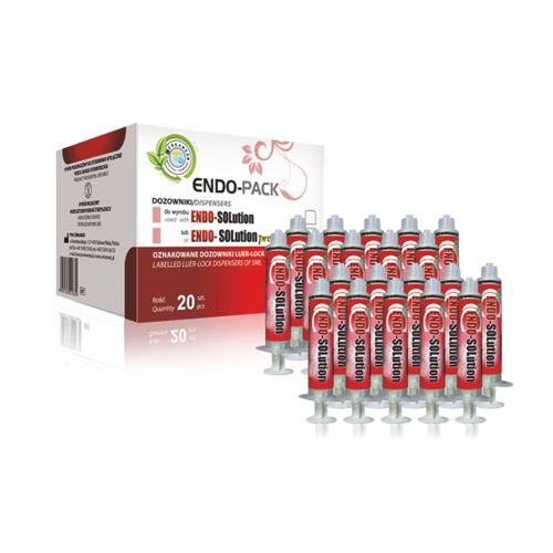 Endo-Pack Endo Solution EDTA 15% stříkačky 5ml 20ks