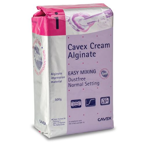 Cavex Cream Alginate Normal Setting 500g