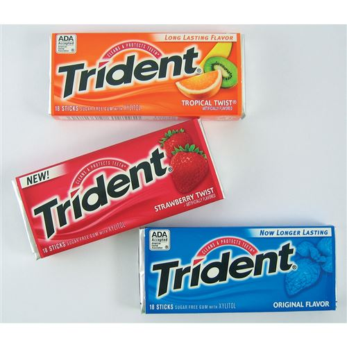Trident s Xylitolem Tropical 14 ks